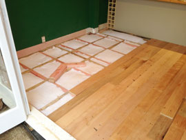 Laying Timber Floors