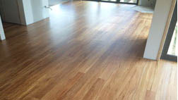 Recycled rimu flooring